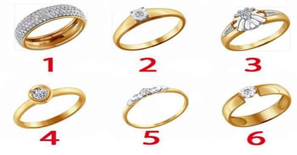 Nu te grabi, alege inelul care îți place si vezi ce scrie pe el.
