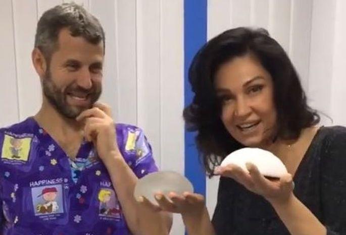 Nicoleta Luciu, pe mâinile medicului estetician, din nou. Vedeta a încercat alte silicoane și face injecții pentru a scăpa de celulită