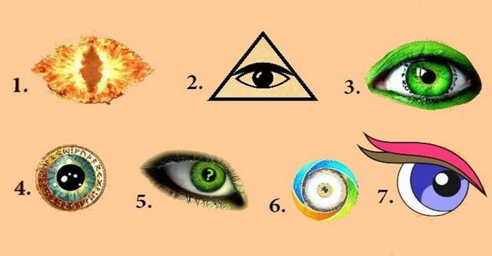 Chiar daca nu crezi, alege un ochi și află ce dezvăluie subconștientul tau despre tine! Chiar functioneaza!