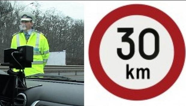 COD RUTIER schimbat. Limită de viteză de 30 km pe oră în localităţi