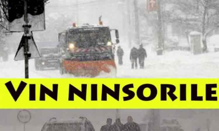 Vremea schimba foaia! NINSORI si VISCOL in urmatoarele zile. Avertizare de ultima ora de la ANM