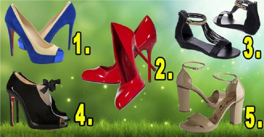 Testul feminităţii! Alege pantofii care îţi plac şi află ce spune despre tine
