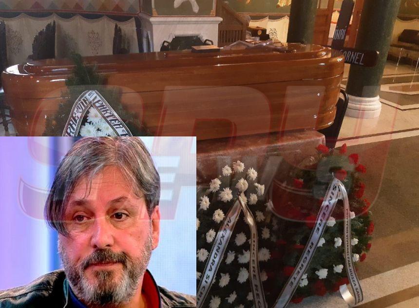 Preotul nu vrea să-l înmormânteze pe Cornel Galeş. Informaţii de ultim moment de la priveghiul fostului soţ al Ilenei Ciuculete