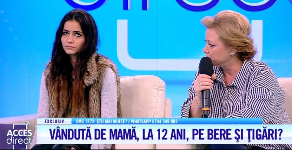 O tânără îşi acuză mama că a vândut-o! Cumpărătorul Elenei a făcut-o mamă la 14 ani.