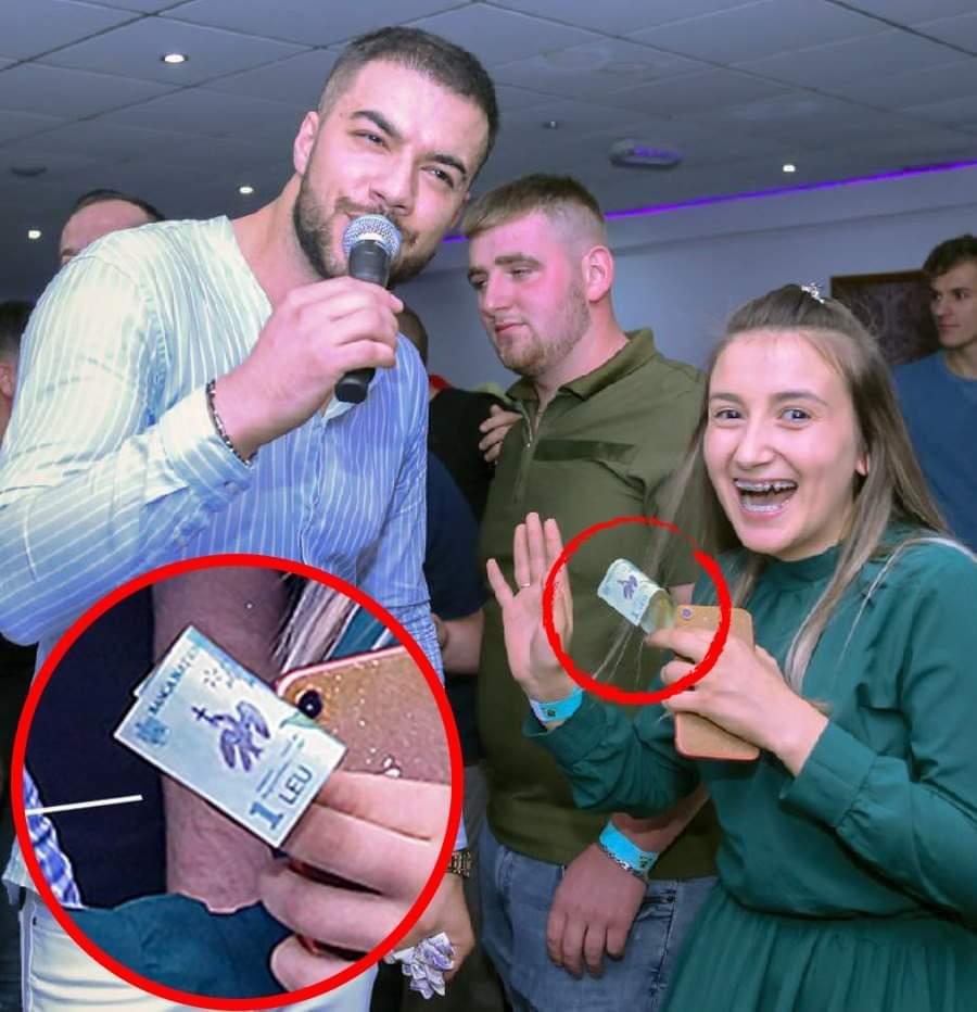 Cum a reacționat Culiță Sterp când, în timpul unei petreceri într-un club această fană i-a dat doar 1 leu pentru o dedicație