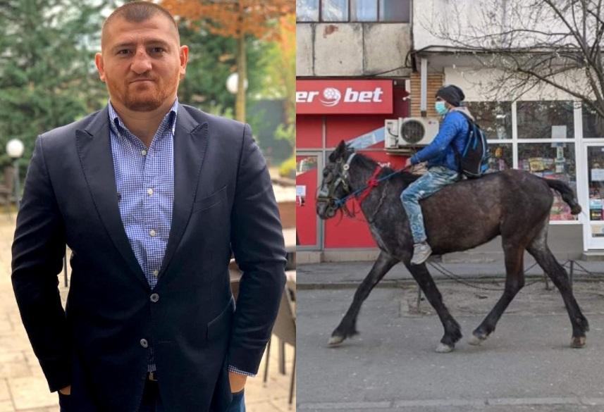 Cătălin Moroșanu i-a găsit o casă băiatului din Iași care a mers călare la maternitate