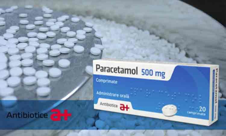 Compania Antibiotice Iași produce din nou Paracetamol şi Novocalmin