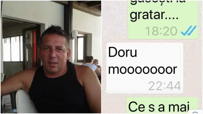 """Ultimele cuvinte ale lui Costin Mărculescu: """"Doru, mor"""""""